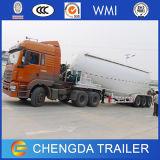 Acoplado del carro de petrolero del silo del bulto del cemento de los árboles 45cbm de China 3