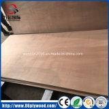 a madeira compensada comercial Okoume do Poplar da classe da mobília de 18mm enfrentou