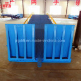 Rampas de cargamento ampliamente utilizadas de la carretilla elevadora del coche del almacén hidráulico de la rampa