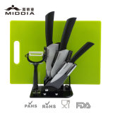 Faca Block Set com Peeler & Chopping Board para Kitchenware