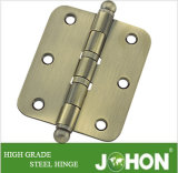 """Bisagra 3.5 """" X3 """" del metal de la puerta del acero o del hierro del rodamiento"""