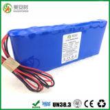 深いサイクル6600mAh 11.1V李イオン電池のパック