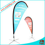 Publicité Afficheur Flag Banner Outdoor Flag Display Stand
