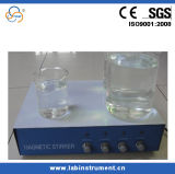 세륨 Sh 6 4개의 줄 자석 교반기 실험실 자석 교반기