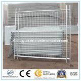 Дешевая временно загородка, временно панели загородки металла, съемная загородка