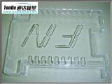 Qualité PMMA transparent, PC, pièces de usinage de commande numérique par ordinateur de prototypes de Rarpid