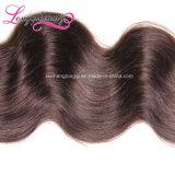 Объемная волна Brown волос горячей оптовой девственницы бразильская