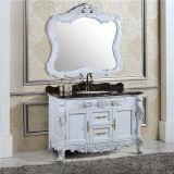 Vanité debout de salle de bains d'étage neuf de modèle avec le miroir