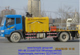Bomba concreta montada caminhão