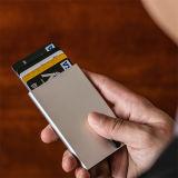 新しいギフトは札入れのホールダーのためのRFID NFCの帯出登録者を保護する