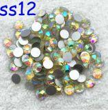 Clavo de acrílico de piedra de cristal del Rhinestone no caliente del arreglo de Ss6 Ss10 Ss16 Ss20 Ss30 Jonquil Ab (grado del jonquil ab/3A del FB-)