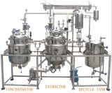Machine d'extraction d'extracteur de réglisse de feuilles de thé de fleur de fond d'acier inoxydable
