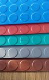 Анти- лист мастерской выскальзования, квадратные резиновый циновки плитки, резиновый циновка настила