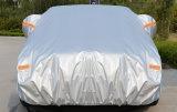 Dasの自動車のための高いQuanlityの折る銀PEVA Theftproof防水車カバー
