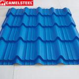 Покрасьте Coated Corrugated гальванизированный настилая крышу лист