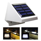 Luz impermeable al aire libre accionada solar de la seguridad de 4 escaleras del LED
