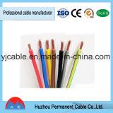 Fil de cuivre d'isolation de PVC de câble du faisceau rv