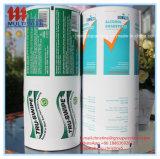 Het Document van de aluminiumfolie voor het Antiseptische Stootkussen van de Alcohol