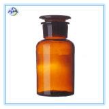 Frasco de reagente elevado do Borosilicate com garganta à terra