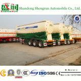 del cemento 45cbm del tanque acoplado a granel semi para el tractor