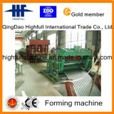Rolo dos silos do armazenamento da grão que dá forma à máquina