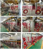 Ranurado de tubería flexible Montaje de sistema de la tubería de suministro de agua