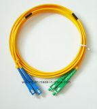 divisor óptico de la fibra CATV de la PC del Sc del rectángulo del ABS 1X32