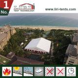 テントを食事している40mの玄関ひさしのテント展覧会のテントの宴会ホール