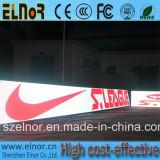 Quadro de avisos ao ar livre da indicação digital do diodo emissor de luz do estádio do perímetro do esporte P16