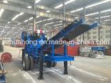 Planta de esmagamento Waste do triturador da esteira rolante da construção