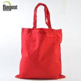 주문을 받아서 만들어진 색깔에 의하여 재생되는 튼튼한 선전용 면 끈달린 가방