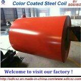 Цвет покрыл гальванизированную стальную катушку/PPGI (0.14--1.2mm)