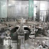Abgefülltes Mineral-/reines Wasser, das Zeile bildet