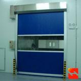 Die schnelle Geschwindigkeits-Tür rollen oben industrielle Tür