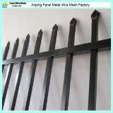 Heißer eingetauchter Galvanzied StahlröhrenSicherheitszaun