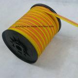 Orange u. gelbes elektrisches Band