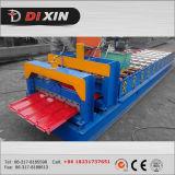 A exportação a Kazarhstan, de Cangzhou Dixin telha 1100 de aço de Glzaed lamina a formação da máquina