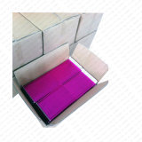 金属フィルムおよびPEの泡ライニングが付いている紫色の金属泡郵便利用者