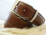 Reversible Buckle (EU3601-35)를 가진 형식 Men의 Leather Belt