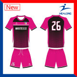 Healong Sublimation Custom Soccer Club Jerseys Chemises de football