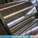 承認されるSGSが付いているDx51d+Zの熱い浸された電流を通された鋼鉄コイル