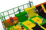 セリウムCertificationとの屋内Trampoline Park