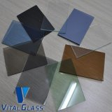 Teñido/Reflective/Tempered/Laminated Float Glass para Building Glass