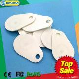 Водоустойчивый Glassfiber RFID Keyfob близости EM4200