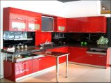 Customized lucido Wooden Acrylic Kitchen Cabinets per Home Furniture (Acrylic per i portelli di armadietto)