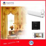 Controlador aberto da cortina do plano elétrico de Taiyito motorizado automaticamente controlado