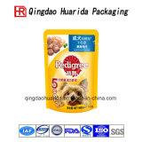 El alimento de animal doméstico modificado para requisitos particulares empaqueta el bolso del acondicionamiento de los alimentos de perro