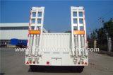 12 Meter 3-Axle Lowboy/Lowbed Sattelschlepper-, mit Seitenwand u. Strichleitern