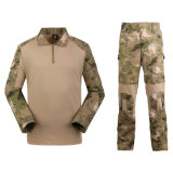 A camisa do combate Gen2 + as cuecas (terno apertado) da râ Multicam colorem o uniforme militar