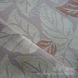 Tissu 100% de Chenille teint de fils de polyesters de configuration de lame pour le sofa
